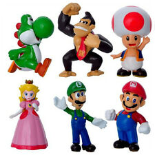 1 Set Game Character Super Mario Bros Action Figures Doll Kids Children Baby Toy