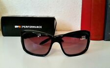 SPY Performance Libra Sunglasses Black/Merlot Fade Lens Womens