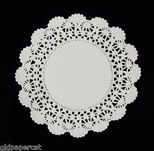 "50 - 4"" White CAMBRIDGE PAPER LACE DOILIES 