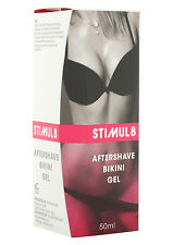 STIMUL8 BIKINI GEL Aftershave SKIN CARE Softens Soothes Itching Women Line Wax