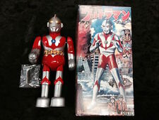 "1992 ULTRAMAN BILLIKEN 9"" TIN WIND UP WALKING ROBOT TSUBURAYA JAPAN NEW IN BOX"