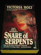 wm* VICTORIA HOLT ~ SNARE OF SERPENTS