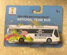 2014 World Cup FIFA Brazil USA Hyundai National Team Bus MAISTO 1:90 Team USA E1