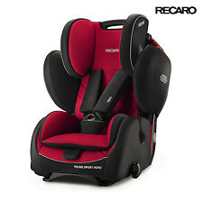 2016 Recaro Germany Young Sport Hero Racing Red Child Seat (9-36 kg) (19-79 lbs)