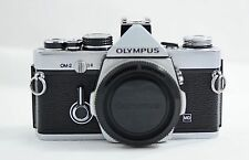 OLYMPUS OM-2 MD CHROME SLR CAMERA BODY