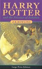 Harry Potter and the Prisoner of Azkaban First Edition LARGE PRINT