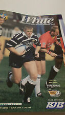 21.1.96 Featherstone Rovers v Keighley Cougars programme