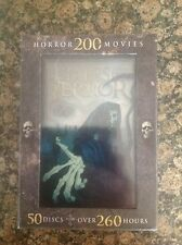 Tales of Terror: 200 Horror Movies (DVD, 2013, 50-Disc Set)Authentic Release