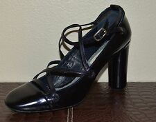 NEW MARC JACOBS LEATHER PUMPS SHOES SZ EU 37.5 US 7.5 MADE IN ITALY