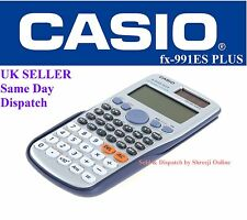 CASIO FX-991ES PLUS SCIENTIFIC CALCULATOR - for A-Level & GCSE's - Fast Shipping