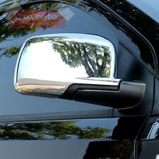 Chrome Door Side Mirror Cover Trim For Dodge Journey Fiat Freemont 13-16