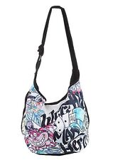 Disney Alice In Wonderland We're All Mad Here Color Tattoo Hobo Bag Tote HTF NWT