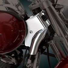 Kawasaki 06 up VN900 VN 900 Classic Vulcan Show Chrome Neck Covers 71-325