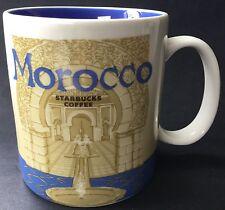Starbucks Morocco 2016 Global Icon Collectible Coffee Mug w SKU 16oz Never Used