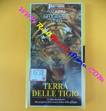 film VHS TERRA DELLE TIGRI National geographic sigillata PANORAMA (F104) no dvd