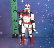 STAR WARS - RED CLONE TROOPER FIGURE - ALM17