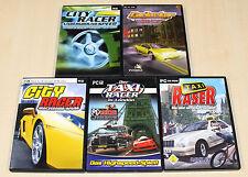 5 pc giochi collezione Racing fortuna Corse Giochi taxi Racer City RASER LONDRA CAR jacker
