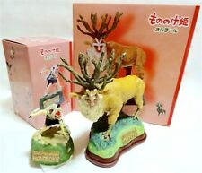 Ghibli Princess Mononoke + Shishi God Music Box SET! Polyester JAPAN NEWFS