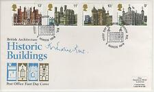 "DUCHESS OF KENT- SIGNED -""HISTORIC BUILDINGS""FIRST DAY COVER"