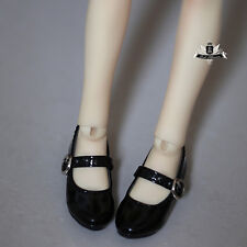 MSD Shoes 1/4 BJD Shoes Dollfie EID MID Luts AOD DOD SOOM Lolita Black Shoes 296