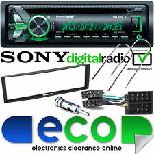 RENAULT Clio 2005-12 Sony DAB BLUETOOTH CD mp3 USB Auto Stereo & Nero Kit Fascia