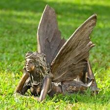 Large Whimsical  Fairy Angel  Garden Sculpture Statue,19.5''W.