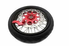 HONDA SUPERMOTO MOTARD WHEEL RIMS XR650R XR 650R DISC SPROCKET TIRE