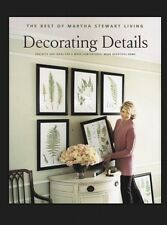 The Best of Martha Stewart Living: Decorating Details : Projects and Ideas for a