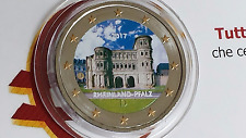 2 euro 2017 GERMANIA color farbe cor kleu Allemagne Alemania Deutschland Germany