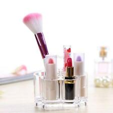 Hot Organizer Makeup Case Brush Holder Display Stand Storage Box Clear