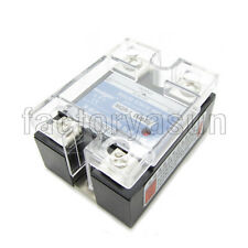 DC- AC 40A SSR Solid State Relay DC3-32V Control AC24-480V CE With LED Indicator
