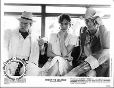 LOT of 4, Albert Finney, Jacqueline Bisset stills UNDER THE VOLCANO (1984) KATY