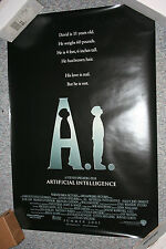 A.I. Original DS SPIELBERG Movie Poster- Advance HALEY JOE OSMENT WILLIAM HURT