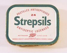 Strepsils Medical Empty Tin Box from Canada