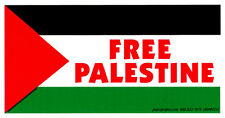 Free Palestine - Magnetic Bumper Sticker / Decal Magnet