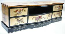 "oriental furniture 48"" TV cabinet, Chinese gold leaf  lacquer TV stand,"
