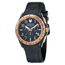 Swiss Eagle SE-9061-05 Mens Field Tactical Black Chronograph Watch RRP £475