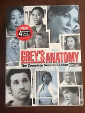 Grey's Anatomy: Season 2 Uncut (DVD 2006)