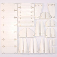 Lego Technic - White Studless Panels Fairings Bricks - Selection 34 Parts - NEW