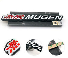 Aluminum Metal  3D MUGEN Emblem Trunk Badge Stickers