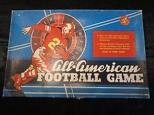 Jeu ! Boîte de Jeu ! Ancien ! Made USA ! All American Football Game ! 1960 ! J6