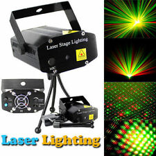 Black Mini LED R&G Laser Projector Stage Lighting Adjustment DJ Disco Party Club