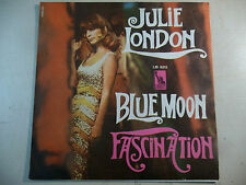 "JULIE LONDON ""BLUE MOON/ FASCINATION"" SOLO COPERTINA NO DISCO 45 GIRI"