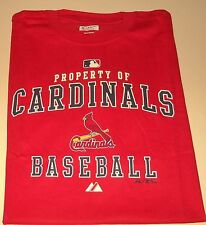 ST. LOUIS CARDINALS MENS SIZE X-LARGE LICENSED T-SHIRT NWT
