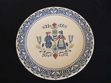 vintage retro  johnson bros hearts and  & flowers dinner plate