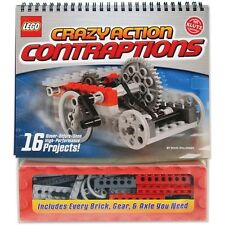 Klutz Lego Crazy Action Contraptions Book Kit - 389029