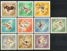 Hungary 1964 Olympic Games/Olympics/Sports/Horses/Football/Boxing 10v set n40371
