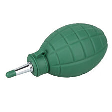 Rubber Air Blower Dust Cleaner for DSLR SLR Camera CCD Lens Cleaning Green Small