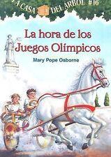 La Hora de los Juegos Olimpicos No. 16 by Mary Pope Osborne (2007, Paperback)