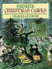 Favorite Christmas Carols (Dover Song Collections), , Good Book